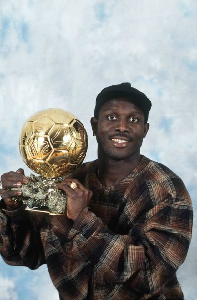 George Weah élu ballon d'or