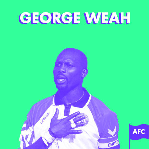 Portrait – George Weah