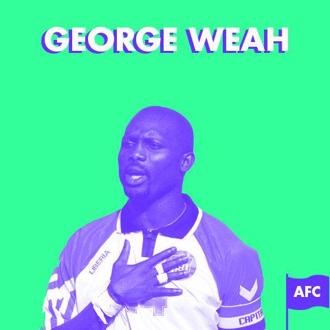 Portrait – George Weah