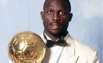 George Weah – Remise du ballon d'or