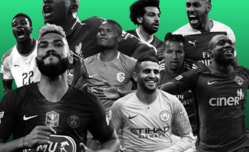 Les joueurs africains dans les 20 meilleurs championnats européens